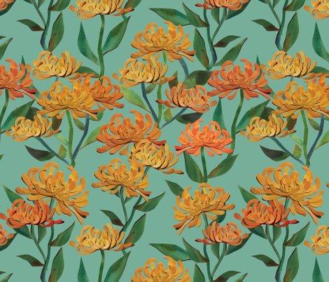 Rpaper_cut_chrysanthemums_sea_foam_shop_preview