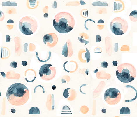 inhale // exhale fabric by trizzuto on Spoonflower - custom fabric