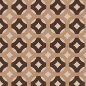 Brown Kraft Paper Geometric