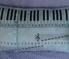 piano study pillowcase
