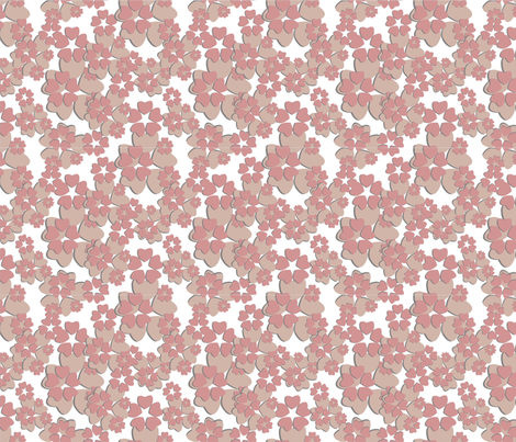 paper_flower_1 fabric by prarthana on Spoonflower - custom fabric