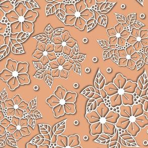 Flowercut white