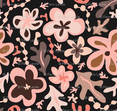 Floral a la Matisse - Primrose