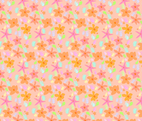 baby_flowers fabric by haystacks on Spoonflower - custom fabric