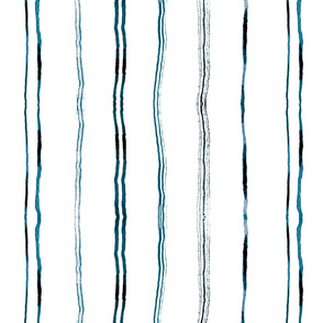 indigo Ink Stripe _Whispers