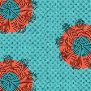 Rustic Floral Circle