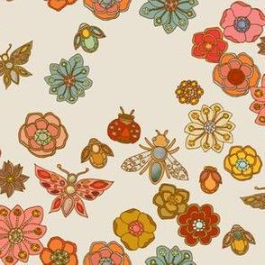 The Jewelled Garden - Antique