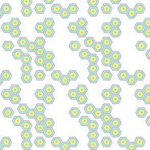 Rainbow Hexagons