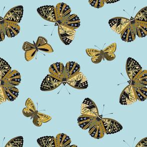 Flutterflies allover