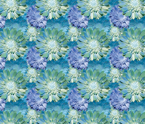 Awesome Blossoms fabric by jilbert on Spoonflower - custom fabric