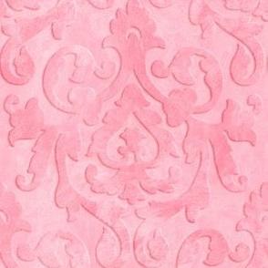 Pink Damask Ragwash Small