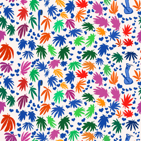 Altered Matisse 420 fabric by camomoto on Spoonflower - custom fabric