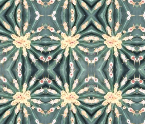 Cactus Pleats fabric by elise_camp on Spoonflower - custom fabric