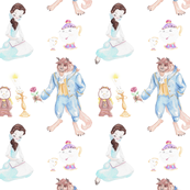 Tale as Old as Time - White Background - Big