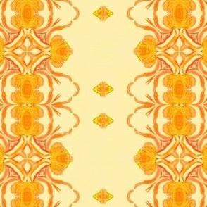 Orange blossom stripes