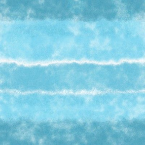 Soft Sky Blue Watercolor Stripes