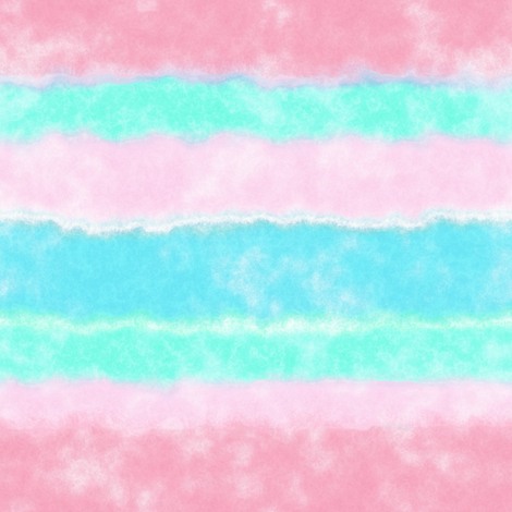 Soft Watercolor Stripes in Pink and Sky Blue fabric by linda_baysinger_peck on Spoonflower - custom fabric