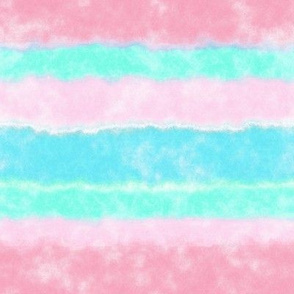 Soft Watercolor Stripes in Pink and Sky Blue