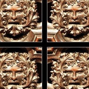 Green Man Ornament