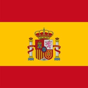 "Flag of Spain - (54""x36"")"