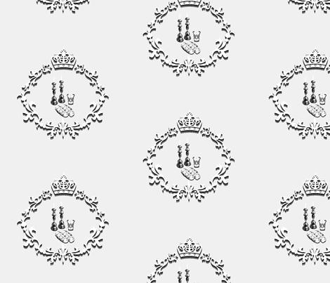 Shabbat Cutouts fabric by anneostroff on Spoonflower - custom fabric