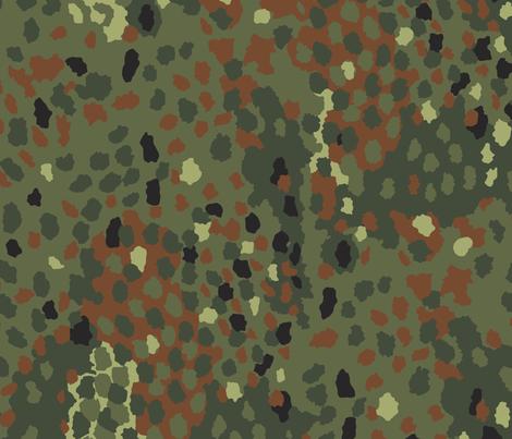 Olaf_Erbsenmuster_Flecktarn fabric by ricraynor on Spoonflower - custom fabric