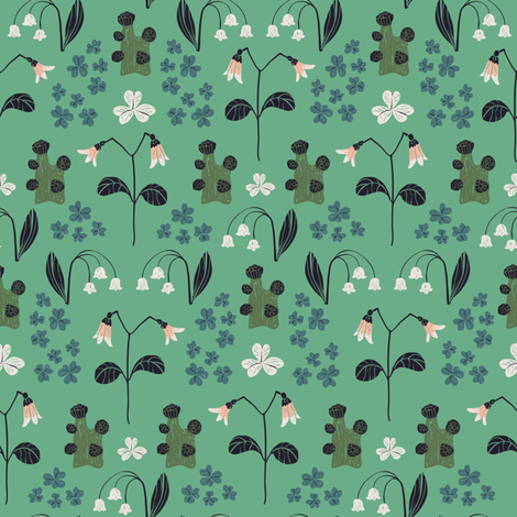 theclearing fabric by tina_loeffler on Spoonflower - custom fabric