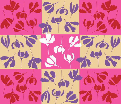 SPRING_TIME_2017-01 fabric by soobloo on Spoonflower - custom fabric