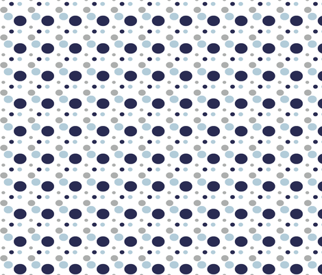 Ezra Polka Dots Nautical fabric by sweet_peach on Spoonflower - custom fabric