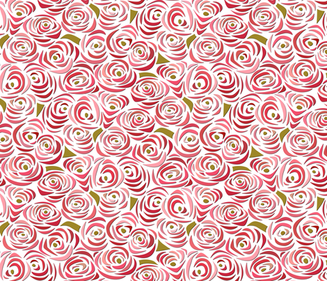 Endless Bouquet fabric by mag-o on Spoonflower - custom fabric