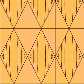 golden diamond mud cloth