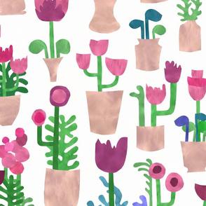 Papercut Houseplants