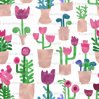 Papercut Houseplants Small