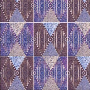 brown and aubergine argyle