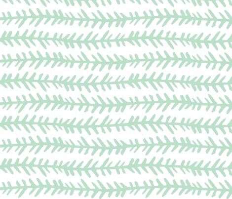 mint fabric by hudsondesigncompany on Spoonflower - custom fabric
