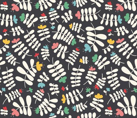 Cute flowers fabric by valyavalenok on Spoonflower - custom fabric