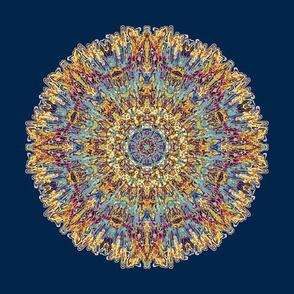 Spanish Tile Midnight Blue