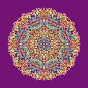 Spanish Tile Purple