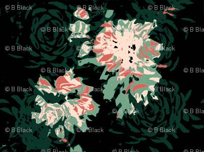 Flowering Succulents - Limited Color Palette