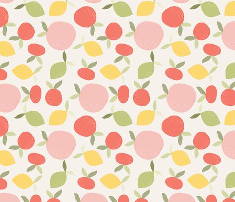 agrume_M fabric by nadja_petremand on Spoonflower - custom fabric