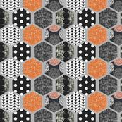 Hexagon, pattern, texture! by Su_G