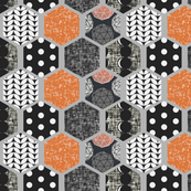 Hexagon, pattern, texture! by Su_G