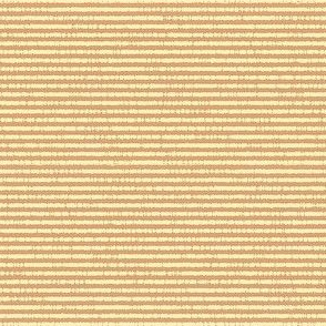French Linen Petite Stripe - melon