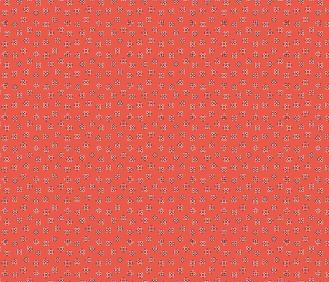 little red atoms fabric by meissa on Spoonflower - custom fabric