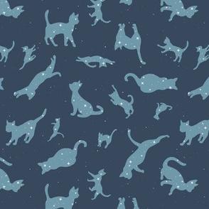 Constellation Cats Gray