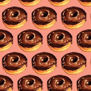 Chocolate Donut Pink