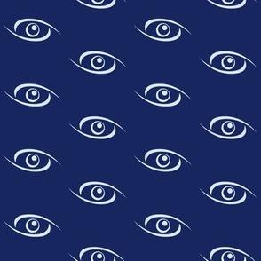 Spiral Eyes - Blue
