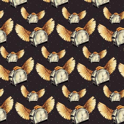 Flying Toasters fabric by kellygilleran on Spoonflower - custom fabric