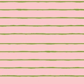 pink/green stripe
