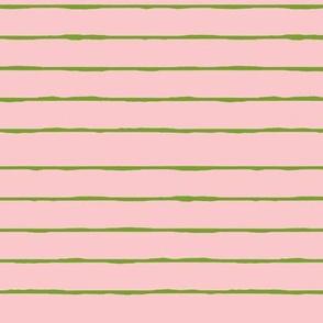 pink/green stripe